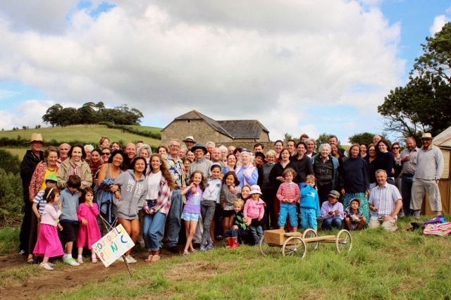 Kelston picnic group photo 16 August 2014, by Matt Prosser.