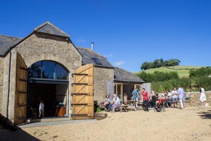 Barn and picnic