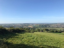 From the top of Roundhill field